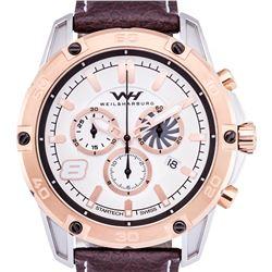 Weil & Harburg Swiss Chronograph Huxley Mens Watch