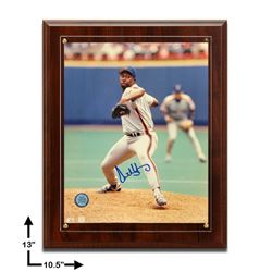 Anthony Young New York Mets Signed Plaque GFA