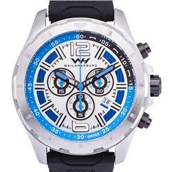 Weil & Harburg Mens Swiss Chronograph Watch