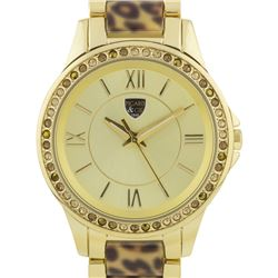 Picard And Cie Casual Leopard Print Ladies Watch