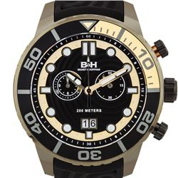 Brandt & Hoffman Epicenter Men's Swiss Chronograph Diver Watch