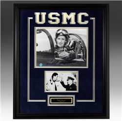 Ted Williams U.S. Navy/Marine Corps 20x16 Signed
