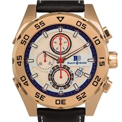 Buech & Boilat Swiss Chronograph Torent Mens Watch
