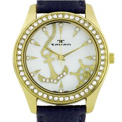 Tavan Swarovski Crystal Bezel Ladies Watch