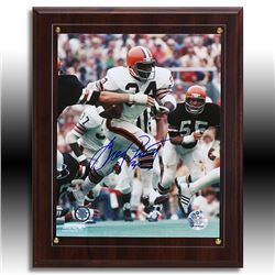 Greg Pruitt Cleveland Browns Signed Plaque