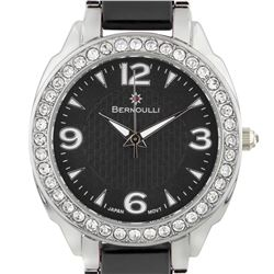 Bernoulli Casual Crystal Bezel Ladies Watch