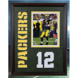 Aaron Rodgers Green Bay Packers 20x16 unsigned photofile