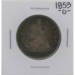 1853-O Liberty Seated Half Dollar Coin