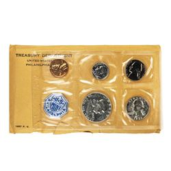 1957 (5) Coin Proof Set in Envelope