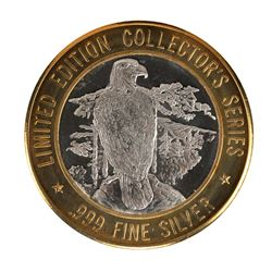 .999 Fine Silver Grand Casino $10 Limited Edition Collector's Series Gaming Token