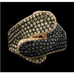 18KT Rose Gold 1.68 ctw Diamond Ring