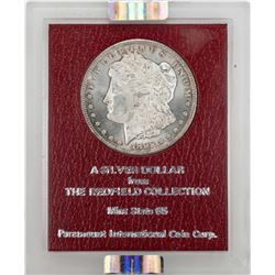 Redfield 1892-CC $1 Morgan Silver Dollar Coin NGC MS62