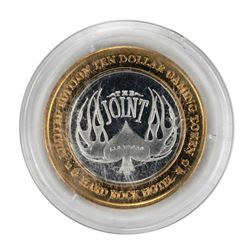 .999 Silver Hard Rock Hotel Las Vegas, Nevada $10 Casino Limited Edition Gaming Token
