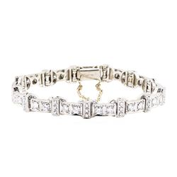 18KT White Gold 2.75 ctw Diamond Bracelet