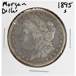 1895-S $1 Morgan Silver Dollar Coin
