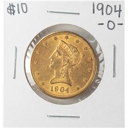 1904-O $10 Liberty Head Eagle Gold Coin