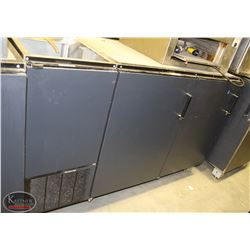 R141) PERLICK 2 DOOR PASSTHROUGH BACK BAR COOLER
