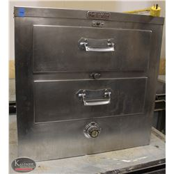 R152) TOASTMASTER 2 DRAWER ROLL & FOOD WARMER