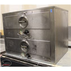 R153) TOASTMASTER 2 DRAWER FOOD WARMER