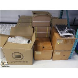 APPROX. 27 BOXES OF PARTS FOR DROPPERS BOTTLES