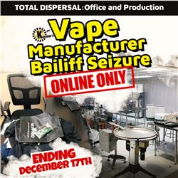 CHECK OUT THE TIMED VAPE MANUFACTURER BAILIFF