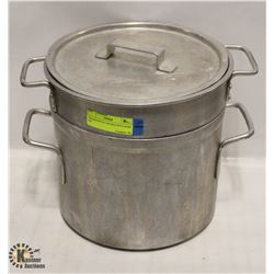 VOLLRATH 9.5L DOUBLE POTS WITH LID