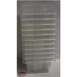 """LOT OF 11 TRUE POLYCARBONATE 1/6TH-SIZE-4"""""""
