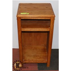 SOLID WOOD ENTRY TABLE WITH SHELF
