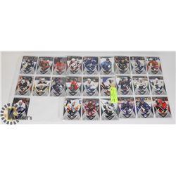 2007-08 UPPERDECK ROOKIE BOX SET HOCKEY CARDS