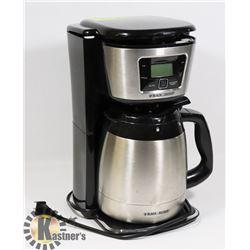 BLACK & DECKER COFFEE MACHINE.