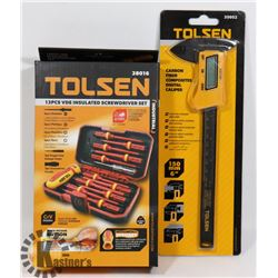 NEW TOLSEN ITEMS 13 PC INDUSTRIAL