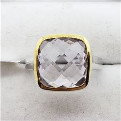 PINK AMETHYST(5.9CTS) RING