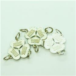 S/SIL THREE LOTS OF BREAKABLE PENDANT