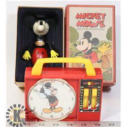 VINTAGE 1950-1960'S ORIGINAL MICKEY