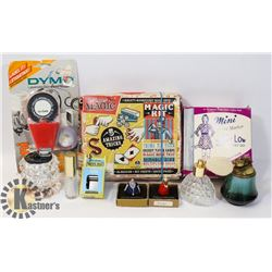 "VINTAGE ITEMS ""RIDLEYS"" MAGIC SHOW"