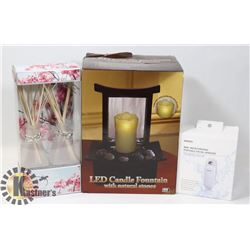 NEW ITEMS LED CANDLE FOUNTAIN