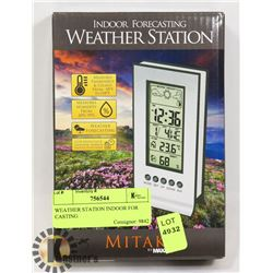 WEATHER STATION INDOOR FOR CASTING