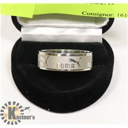 STAINLESS STEEL PUMA SIZE 12 RING