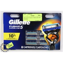 GILLETTE FUSION 5 PROGLIDE 8PK RAZORS