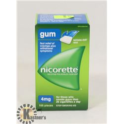 NICORETTE GUM 150 PIECES 4MG EXTREME CHILL MINT