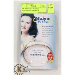 MAGNA WRIST MAGNETIC BRACELET-SILVER COLOR