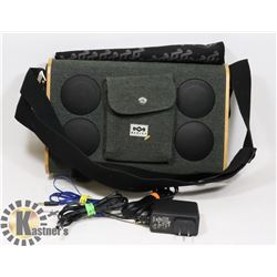 HOUSE OF MARLEY PORTABLE BLUETOOTH SYSTEM