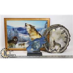 WOLVES COLLECTIBLES FLAT