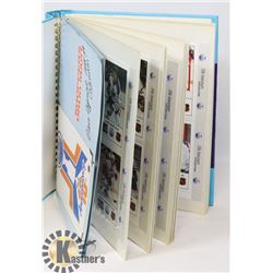 BINDER OF 10TH  ANNIVERSARY COLLECTION OF EDMONTON