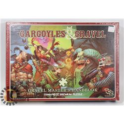 GARGOYLES & GRAVEL GRAVEL MASTER'S HANDBOOK 1000PC