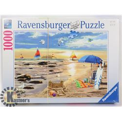 RAVENSBURGER 1000PC READY FOR SUMMER PUZZLE.