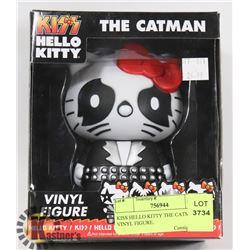 KISS HELLO KITTY THE CATMAN. VINYL FIGURE.