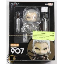 PRODUCT NUMBER 907 GERALT THE WITCHER WILD HUNT