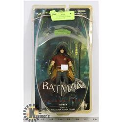 BATMAN ARKHAM CITY ROBIN SERIES 1 COLLECTOR