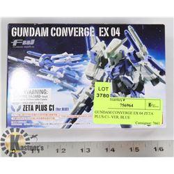 GUNDAM CONVERGE EX 04 ZETA PLUS C1- VER. BLUE